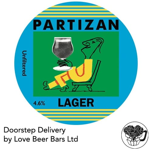 Partizan Brewery Lager Home Delivery Kent