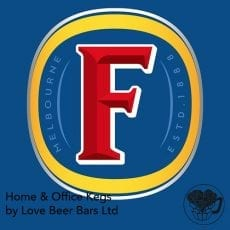 Fosters Lager Home Office Keg