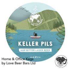 Lost and Grounded Lager Home Office Keg