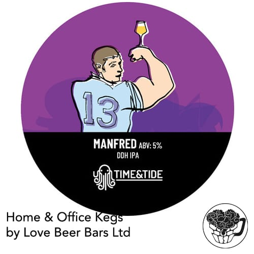 Time and Tide Mafred DDH IPA Home Office Keg
