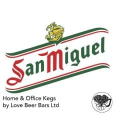 San Miguel Lager Home Office Keg