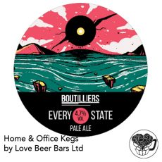 Boutilliers Every State Pale Ale Home Office Keg