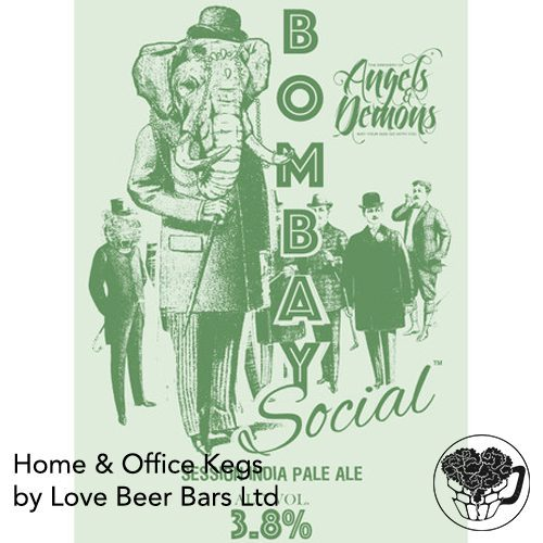 Angels and Demons Bombay Social Pale Home Office Keg