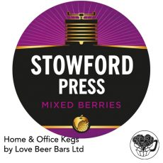 Stowford Mixed Berries Cider Home Office Kent